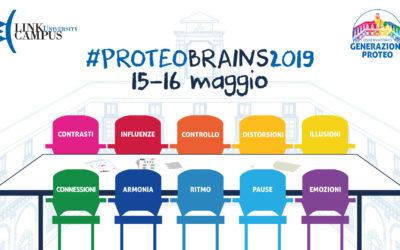#PROTEOBRAINS2019  15 e 16 MAGGIO