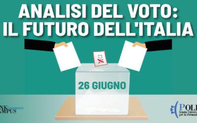 """nicola ferrigni su  """"l'analisi del voto: il futuro dell'italia"""""""