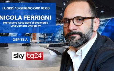 Nicola Ferrigni ospite di  SkyTg24