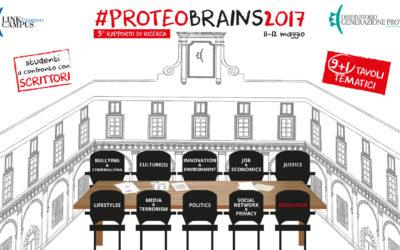 #proteobrains2017 11-12 maggio 2017
