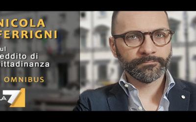 reddito di cittadinanza: nicola ferrigni a «omnibus»