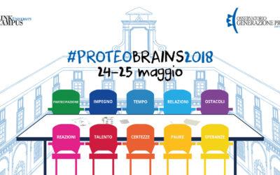 #proteobrains2018 24-25 maggio 2018