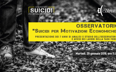 suicidi: il 29 gennaio parte la task force
