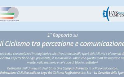 presentato a roma: 1° rapporto nazionale sul ciclismo