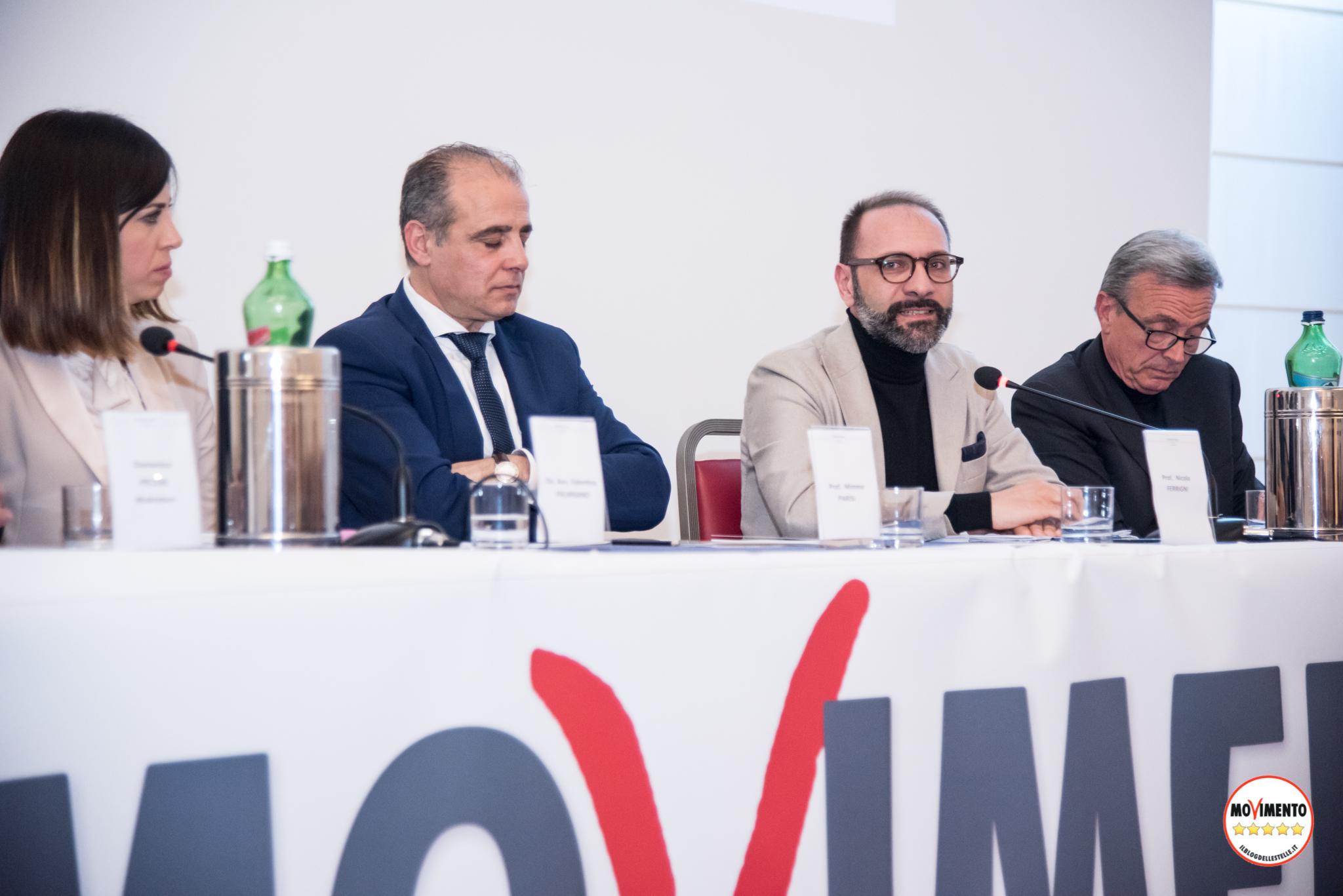Il sociologo Nicola Ferrigni con Mimmo Parisi