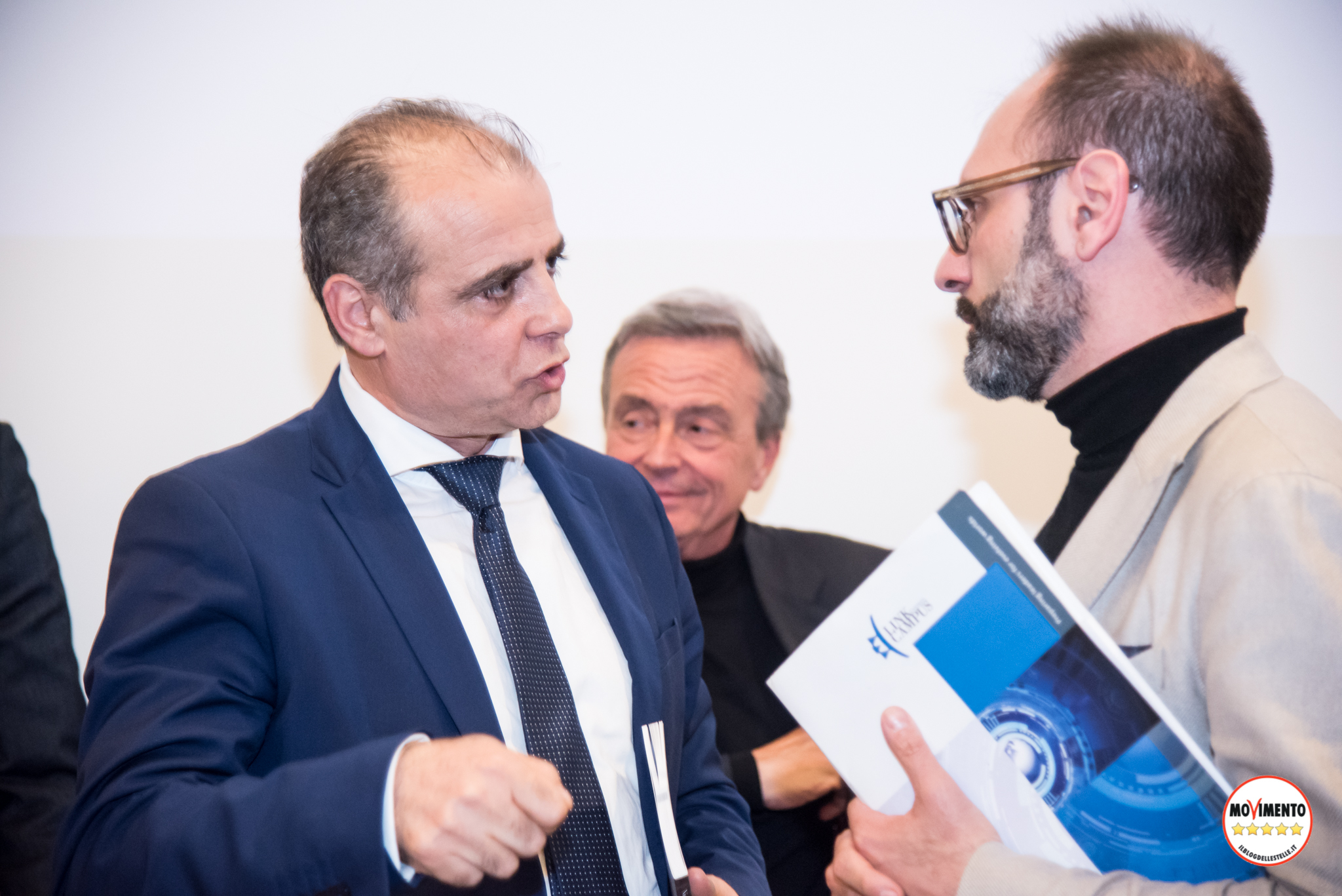 Nicola Ferrigni con Mimmo Parisi