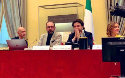 """""""La famiglia nell'era digitale"""" Ferrigni al convegno presso la Camera dei Deputati"""
