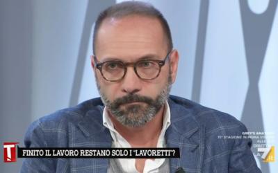 #LAVORO #PRECARIATO FERRIGNI OSPITE a «TAGADÀ – LA7»