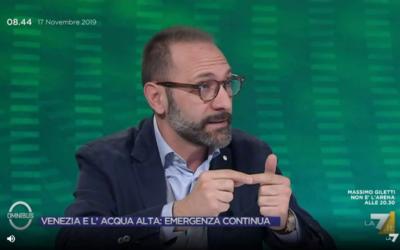 #VENEZIA E #MOSE FERRIGNI INTERVIENE A «OMNIBUS»